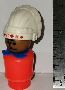 Vintage Fisher-Price Little People Figure -  INDIAN CHIEF