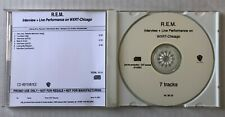 R.E.M. Interview + Live Performance On WXRT-Chicago IN HOUSE PROMO Only CD 2001