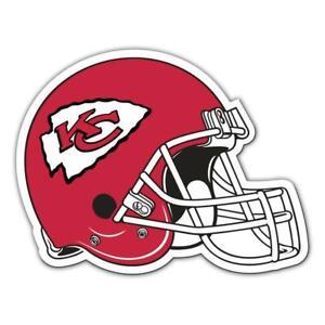 Kansas City Chiefs 12 Inch Helmet Vinyl Car Magnet [NEW] NFL Auto Emblem Decal