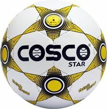 Cosco Star Ball Football Size 5 For Beginners Sports Soccer Match Cosflex