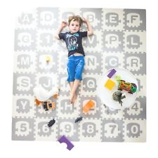 Extra Large Baby Play Mat Non-Toxic Thick Folding Foam Playmat 36 Piece 70*70 In