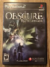 Obscure : The Aftermath - Ps2 ( Playstation 2 ) Complete W/box & Manual !