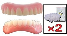 Instant Smile Medium Instant Smile Veneer Set Top Bottom 2 Extra Fitting Beads