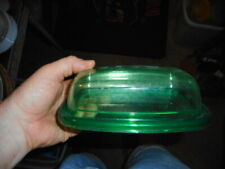 Butter Dish (Green) CreativeWare, USA - Very Good to Excellent