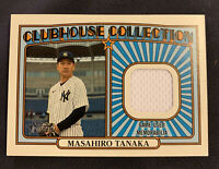 2021 Topps Heritage Clubhouse Collection Relic Masahiro Tanaka⚾️Yankees⚾️