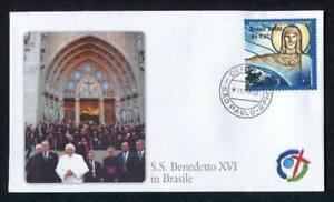 23816) Vatikan 2007 FDC Papst Benedikt XVI IN Brazil 11.5.2007