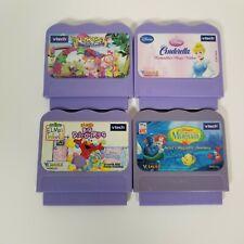 Lot Of 4 Vtech V.Smile Learning System Video Games Cartridges