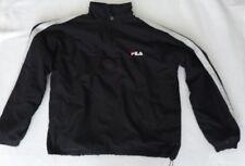 *Vintage* Fila 1990s Black Fleece Sweatshirt Size S Unisex? VGC Snowboard