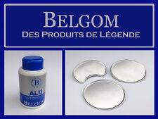 BELGOM ALU, POLISSAGE DOUX DE FINITION SANS RAYURE. MOTO, JANTES, CARTER, 250 ml