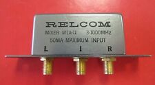 RELCOM 3-1000MHz Level 7 Frequency Mixer M1A-11 SMA Connector