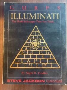 Steve Jackson Games GURPS IOU Welcome to Illuminati University! RPG