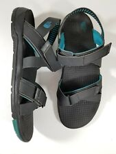 North Face HydroTrak Womens Size 11 Strap Hiking Walking Camp Sandals Blue Grey