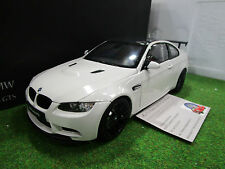BMW  M3 GTS COUPE blanc au 1/18 de KYOSHO 08739W voiture miniature de collection