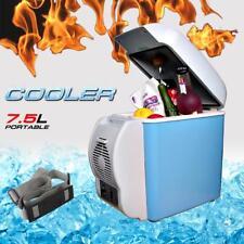 7.5L Portable Mini Fridge Cooler Warmer Car 12V Electric Refrigerator Box Travel