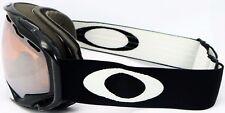 OAKLEY Splice Jet Black Goggle Skibrille Snowboardbrille Schneebrille 57-238