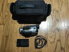 Panasonic Pv-Dv52D-S Mini Dv Camcorder 700X Digital Zoom Ntsc Vintage Home Video