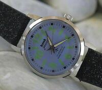 Vintage HMT Jawan 17Jewels Winding Working Wrist Watch For Men's Wear W-5801