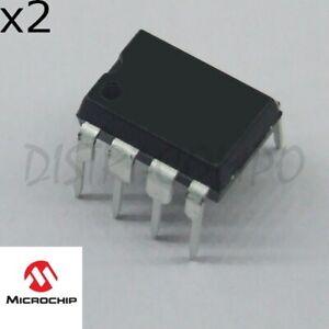 PIC12F1840-I/P MCU 8 bits 32MHz DIP-8 Microchip (lot de 2)