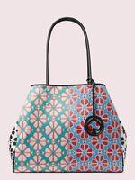 💚 KATE SPADE Everything Spade Flower Tote Bag Large Purse Handbag NWT