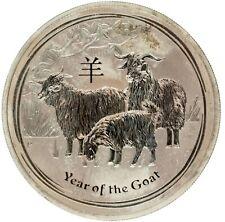 Australia - Silver 1 Dollar Coin - 1 Oz. - 'Year of the Goat' - 2015 - AU