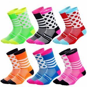 Cycling Socks Comfortable Outdoor Sport Dot Socks Running Hiking Racing Socks