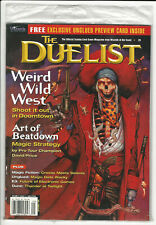 DUELIST #29 - 1998 - MTG, Unglued, Doomtown, Dune,  more - Factory Sealed NOS