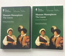 The Great Courses: Museum Masterpieces: The Louvre 2 DVD Set + Course Guidebook