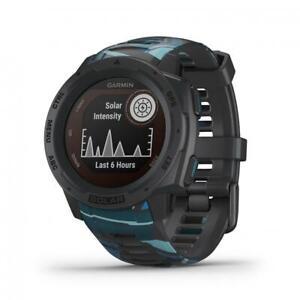 Garmin INSTINCT SOLAR Smartwatch Watch Silicone Black SURF GPS 010-02293-07