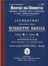 AERONAUTICA Torretta Breda D-E 1935 CA242 TURRET GUNNER Manual - DVD