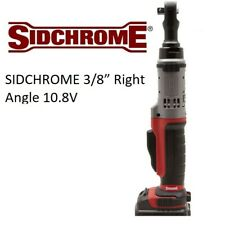 """SIDCHROME 3/8"""" Right Angle 10.8V Cordless Electric Ratchet Wrench (Skin Only)"""