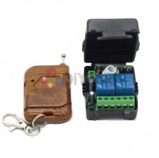 DC12V 10A Relay 2 CH wireless RF Remote Control lamp Switch Transmitter+Receiver