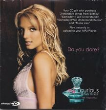 Britney Spears: Curious PROMO MUSIC AUDIO CD Mona Lisa Someday Remix w/ Artwork!