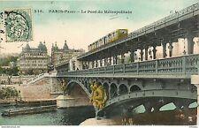 75* PARIS  passy- pont du metro    MA96-0240
