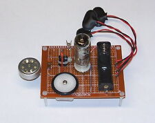 = LOW COST = UNBUILT vintage vacuum tube - AM radio TRANSMITTER project set kit
