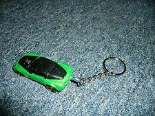 2009 CHEVROLET CORVETTE ZR1 ZR1 DIECAST MODEL CAR KEYCHAIN KEYRING GREEN / BLACK