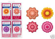 Spellbinders Nestabilities BLOSSOM TWO, THREE, PEONY, DAHLIA - 4 SETS 25 FLOWERS
