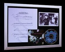 THE CURE Fascination Street LTD TOP QUALITY CD FRAMED DISPLAY+FAST GLOBAL SHIP