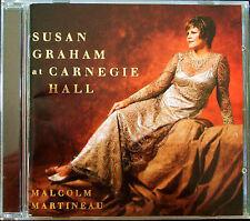 Susan Graham at carnehie Hall: Brahms Gitans chansons CD DEBUSSY Messager Poulenc