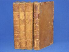 1800, HISTORY REIGN EMPEROR CHARLES V, 4 VOLUME SET, LEATHER BOUND 212 YEARS OLD