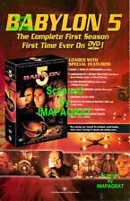 Babylon 5 - 1st Season Dvd Release Print Ad