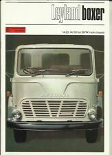 BRITISH LEYLAND BMC BOXER TRUCK LORRY SALES BROCHURE LATE 60's?