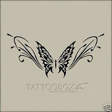 Reusable airbrush stencils Temporary Tattoo Stencils - re_butterfly02_a4