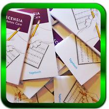 Blutzucker Tagebücher 4 Stück * Tagebücher Neu Diabetes NEU  ASCENSIA *Händler*