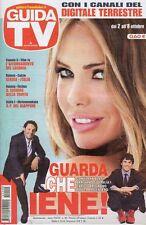 rivista GUIDA TV ANNO 2011  NUMERO 40 ILARY BLASI, ENRICO BRIGNANO, ARGENTERO