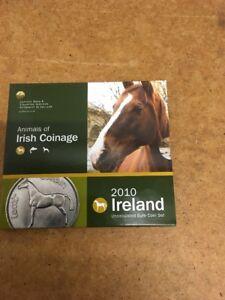 Animals Of Irish Coinage 2010 Euro Coin Set - Free UK P&P