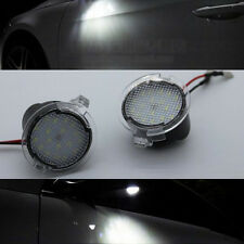 2x High power white LED Side Mirror Puddle Lights For Ford Mondeo Mk5 2015~2017