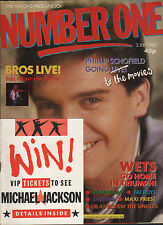Phillip Schofield on Magazine Cover 1988   Maxi Priest   Sabrina  Bros  Pat Cash