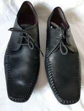 Mens Clarks Black Leather Shoes Size 11