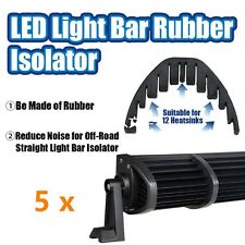 "5x Off Road Rubber Isolator Stop Reduce Wind Noise for 50"" 52"" 54"" Led Light Bar"