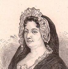 Portrait Jeanne-Marie Leprince de Beaumont Vaimboult Rouen Seine Maritime